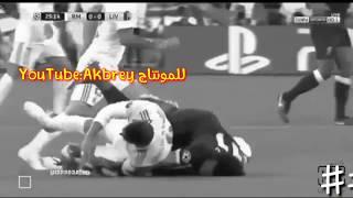 أبكى الملايين مونتاج حزين لاصابة محمد صلاح...