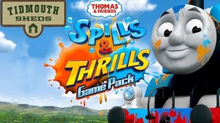 Thomas And Friends Spills & Thrills - Tidmouth Sheds - Kids Train Games