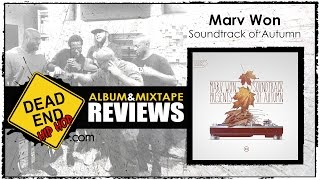 Marv Won - Soundtrack of Autumn Album Review | DEHH