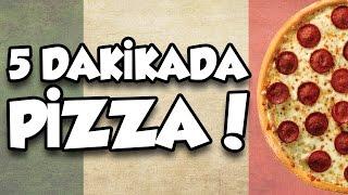 Fincanda Pizza Nasıl Yapılır? - Tadı Bildiğin Pizza