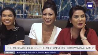 The Medinas fight for the Miss Universe crown as a family