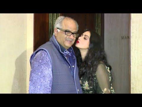 Xxx Mp4 Sridevi KISSING Husband Boney Kapoor In Public 3gp Sex