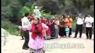 رقص پیرزن قیاس آبادی