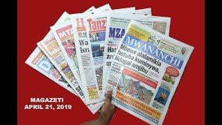 LIVE MAGAZETI: Pasaka 2019 yaja kivingine, Mbowe alalamika kuminywa