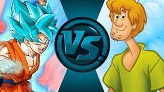 GOKU vs SHAGGY! (Scooby Doo vs Dragon Ball Z) Salt Assault!