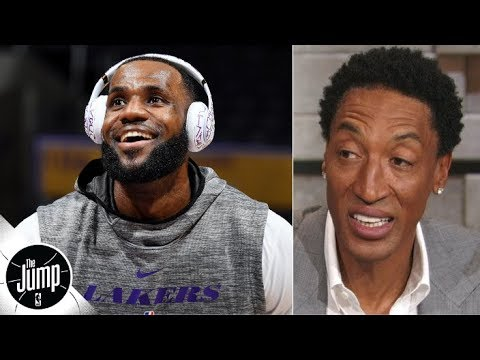 Scottie Pippen reacts to LeBron calling himself GOAT You can t say you re the greatest The Jump