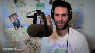 Adam Levine Discusses His Love Of Donuts And Porn In A Game Of Ad-Am Or Ad-Not