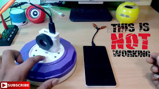 How to make Wireless Mobile Charger from narmal charger || Fake or Real Must Watch