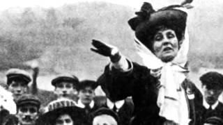 The suffragettes : Emmeline Pankhurst (1858 - 1928)