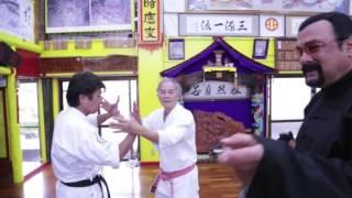 Steven Seagal meets Okinawa Karate Master