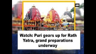 Watch: Puri gears up for Rath Yatra, grand preparations underway - Odisha News
