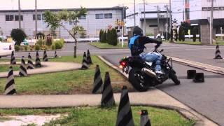 Tirando carta de moto no japao 1