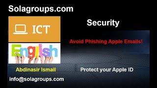 Avoid Phishing Apple Emails
