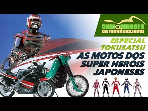 ESPECIAL TOKUSATSU 6 motos que marcaram nossa infância Jaspion Jiban Changeman