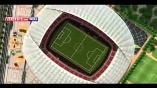 ورزشگاه جدید فولاد خوزستان.