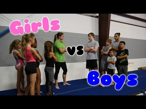 Xxx Mp4 Boys VS Girls Gymnastics Challenge Rachel Marie 3gp Sex