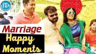 Chiranjeevi's Daughter Srija Marriage - Happy Moments || iDream Filmnagar