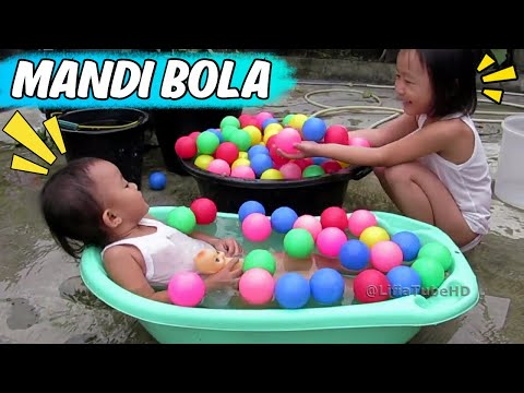 Mainan anak Ball pit ❤ Mandi bola anak dan bermain air Fun Kids pool bath balls