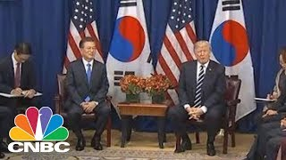 South Korea President Moon: US Has To Respond Firmly To North Korea | CNBC