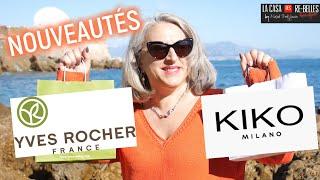 Nouveautés maquillage Kiko et beauté Yves Rocher