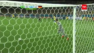 Brasil vs  Alemania: Mundial Brazil 2014 (Completo)