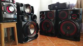LG CM9960 VS LG CM9530   VOLUMEN MEDIO