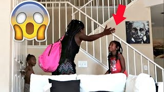 I'M LEAVING / HOME ALONE PRANK ON MY KIDS (THEY GO CRAZY!!!) | LACY'S FILES