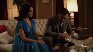Mad Men 1x10 - Don and Rachel Scene 1
