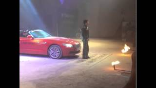 #SRK  @iamsrk  Enters At The Scene For #TagHeuer Event In #Mumb
