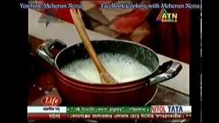 রসমালাই (Roshmalai)  - Recipe by Meherun Nessa presented at ATN RANNA GHOR (every Saturday11:30 AM)