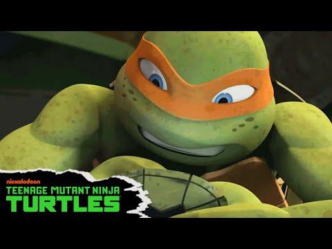 Teenage Mutant Ninja Turtles | Mikey's So-Shell Feed | Nick
