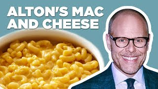 Alton Brown Makes Stove Top Mac-n-Cheese | Food Network