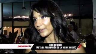 Lorena Rojas sigue combatiendo el cáncer