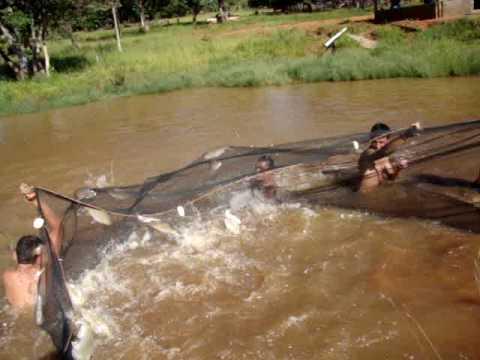 Pesca com Rede Rancho da Grunha