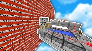 EPIC TNT WARS vs A NOOB! (Minecraft)