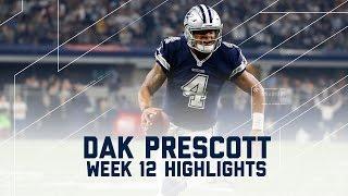 Dak Prescott's 2 TD Day! (Week 12 Highlights) | Redskins vs. Cowboys | NFL