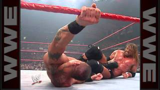 Triple H vs. Randy Orton - WWE Championship Match