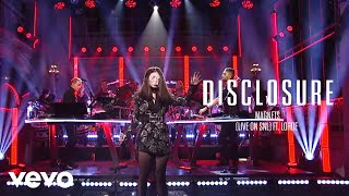 Disclosure - Magnets (Live on SNL) ft. Lorde