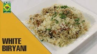 Delicious White Biryani | Flame On Hai | Masala TV Show | Irfan Wasti