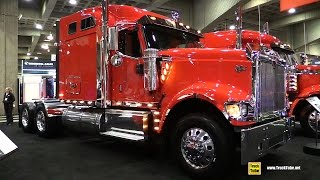 2016 International 9900 Sleeper Truck - Walkaround - 2015 Expocam Montreal