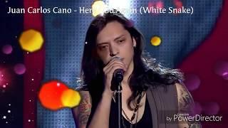 The Voice, Juan Carlos Cano (Here I Go Again) - Suaranya Keren