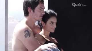 El behind the scenes más hot con Mauricio y Aislinn