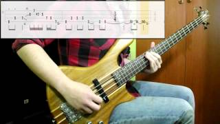 Zac Brown Band - Heavy Is The Head (Bass Cover) (Play Along Tabs In Video)