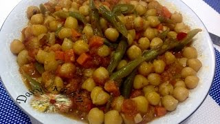 How to make Chickpea & Vegetable Stew