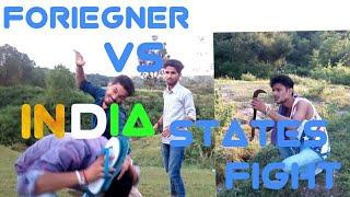 Foriegner Vs Indian States Fights || Himachali || Comedy vines || Funny spoof || KANGRA BOYS 2017
