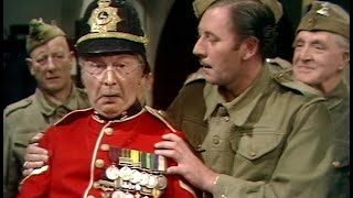 Dad's Army - The Bullet Is Not for Firing - NL Ondertiteld - '... I think I'm going...'