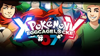 Pokémon XY Egglocke Cagelocke w/ MunchingOrange and aDrive - EP07 -
