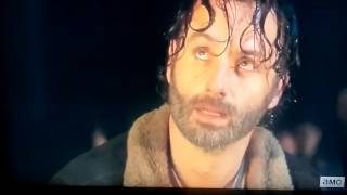 The Walking Dead Season 6 Episode 16 Negan Introduction