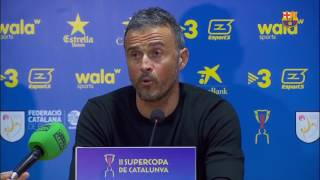 """Luis Enrique: """"All the players performed well"""""""