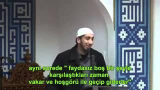 Kuran'ı Gerçekten Seviyor Muyuz Yoksa Terk Edenlerden Miyiz - Nouman Ali Khan